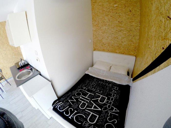 Hotel hel noclegiStudio czteroosobowe małe.