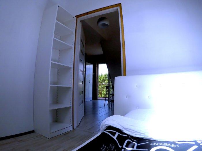 Hotel hel noclegiApartament czteroosobowy z dużym tarasem i oddzielną sypialnią