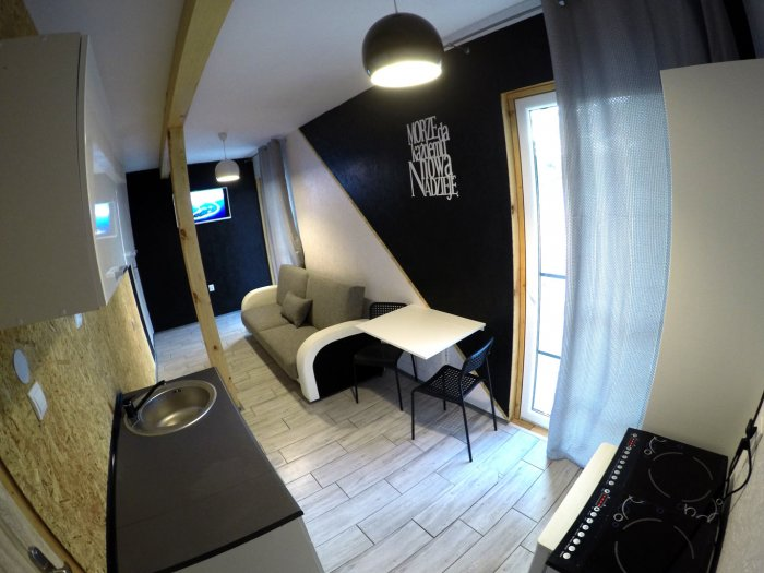 Hotel hel noclegiStudio dwuosobowe.